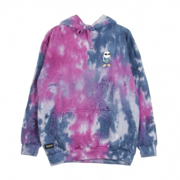 FELPA CAPPUCCIO NERM AND THE GANG HOODIE TIE DYE