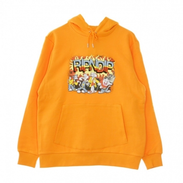 FELPA CAPPUCCIO LOONEY GANG HOODIE ORANGE