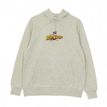 FELPA CAPPUCCIO CAPITAN NERMAL PANTS HOODIE HEATHER GREY