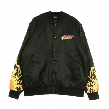 GIUBBOTTO BOMBER NERM FIGHTER JACKET BLACK
