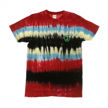 MAGLIETTA PEACE NO LOVE TEE TIE DYE