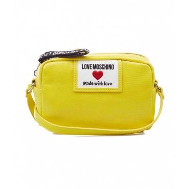 Borsa a tracolla Sporty Label giallo