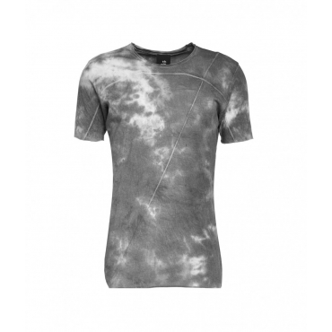 T-shirt in tie dye nero