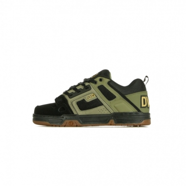 SCARPE SKATE COMANCHE BRINDLE BURNT OLIVE/BLACK LEATHER/NUBUCK