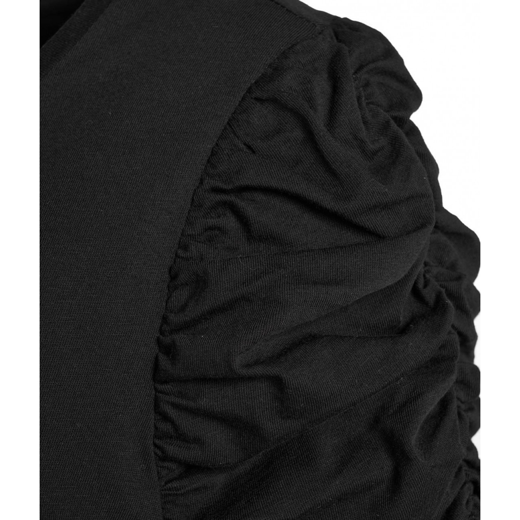 Maxiabito in jersey nero