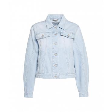Organic Denim Jacket Bryn azzurro