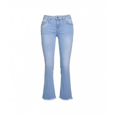 Jeans Up Fly Reg blu
