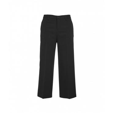 Pantaloni Cropped Reg nero