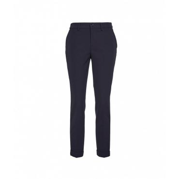 Pantaloni New York Luxury blu scuro