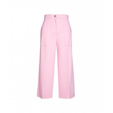 Pantaloni a gamba larga Svelto pink