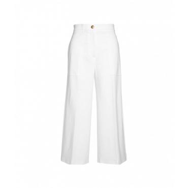 Pantaloni a gamba larga Svelto bianco