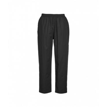 Pantaloni in popeline nero