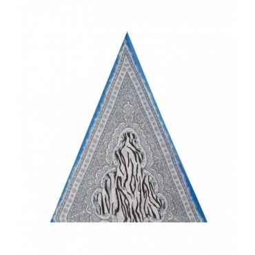 Foulard blu royal