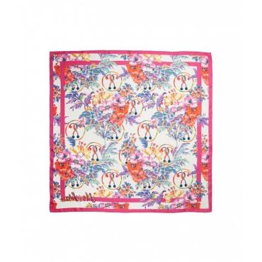 Foulard floreale pink