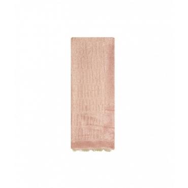 Sciarpa in lurex rosa