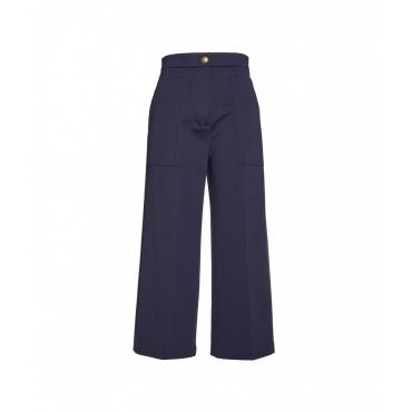 Pantaloni a gamba larga Svelto blu scuro