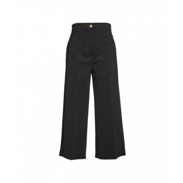 Pantaloni a gamba larga Svelto nero