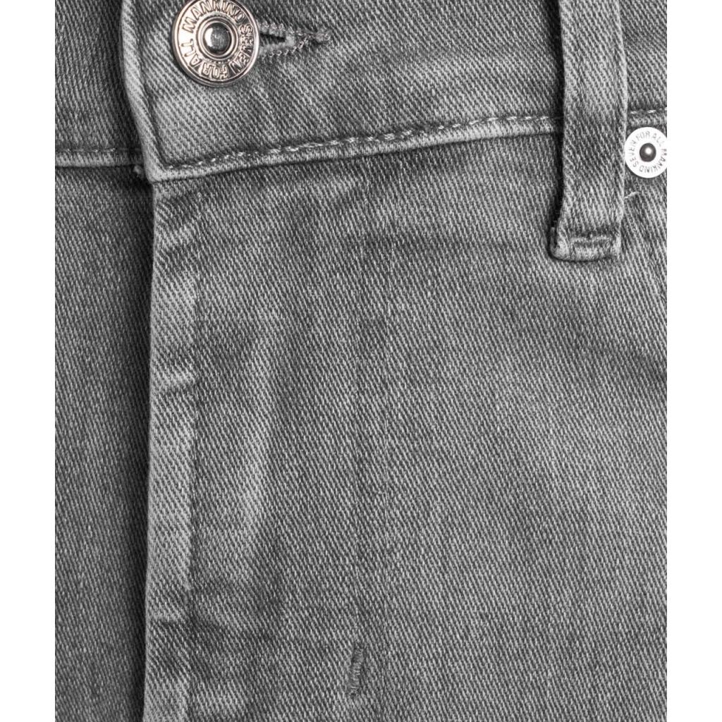 Jeans slimmy tapared grigio chiaro