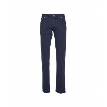Pantaloni chino blu scuro