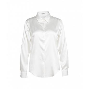 Camicetta in seta bianco