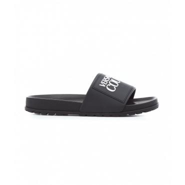 Slides con logo nero