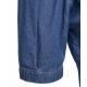 Camicetta in denim blu
