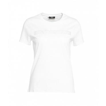 T-shirt Daily bianco