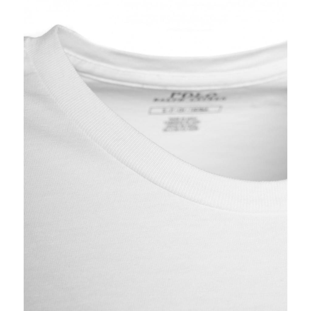 T-shirt con applicazioni a conchiglia bianco