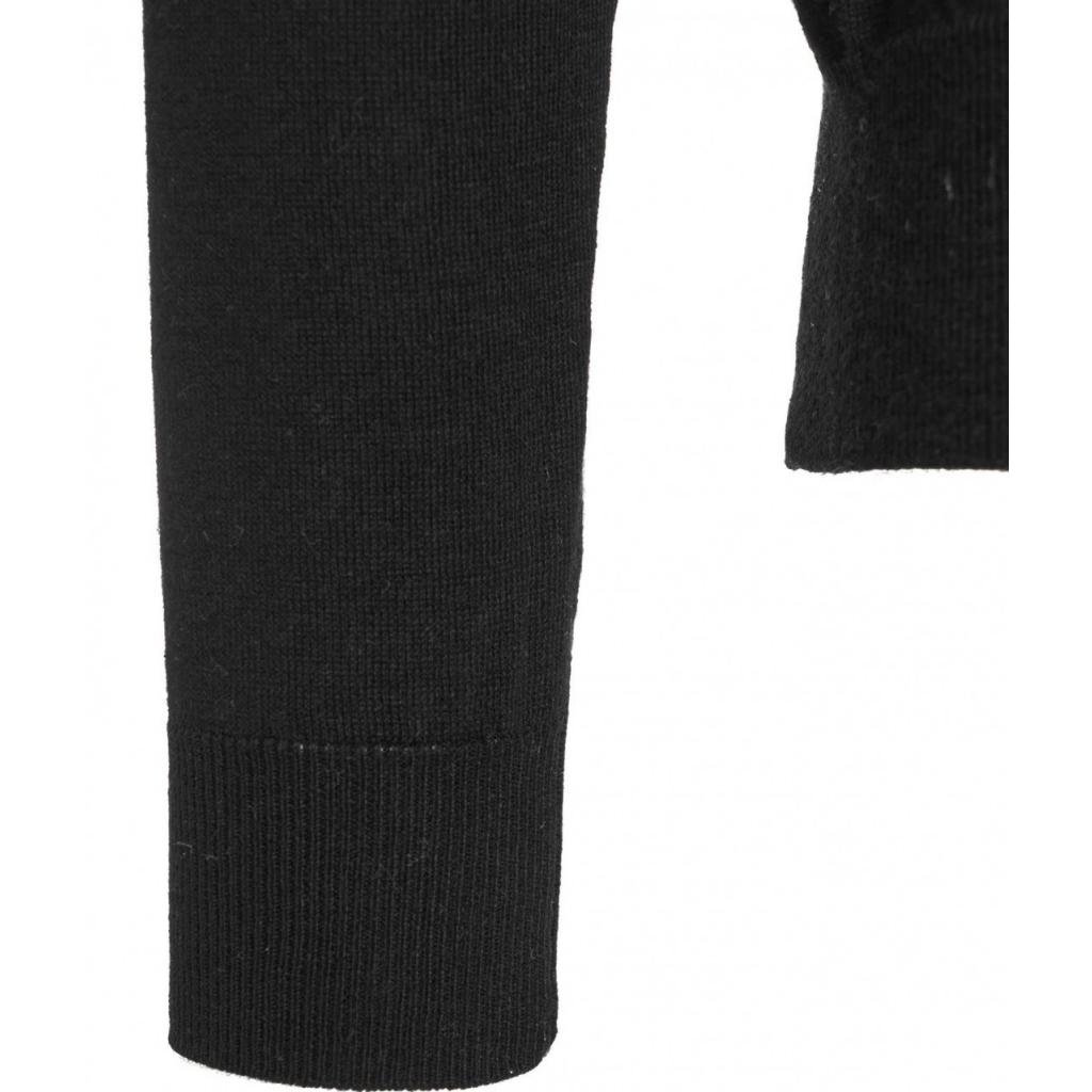 Maglione leggero con scollo a V nero