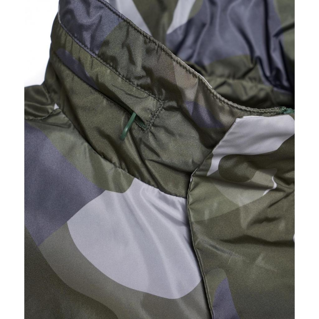 Giacca leggera Freddie in mimetica verde