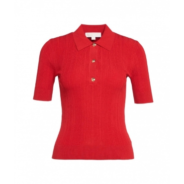 Shirt a coste rosso