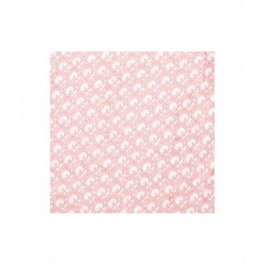 Sciarpa logo rosa