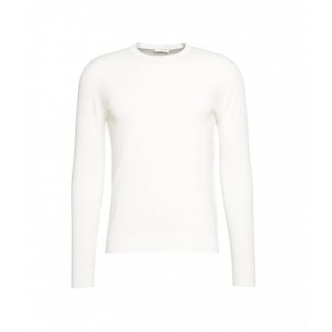 Maglione leggero con struttura bianco