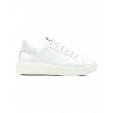 Sneakers Low Top Level Up bianco