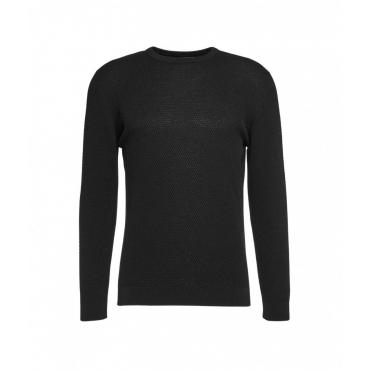 Maglione leggero con struttura nero