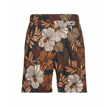 Shorts con stampa nero