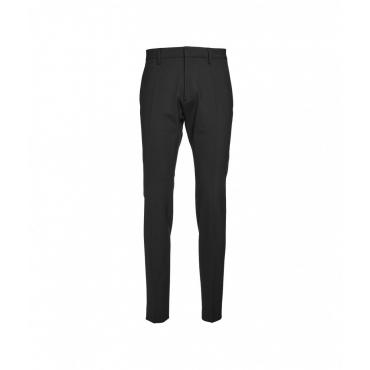Pantaloni con piega nero