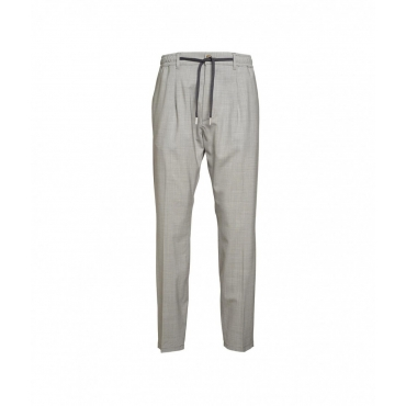 Pantalone casual grigio chiaro