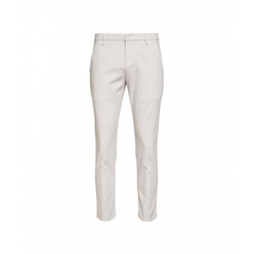 Pantaloni chino Alfredo grigio chiaro