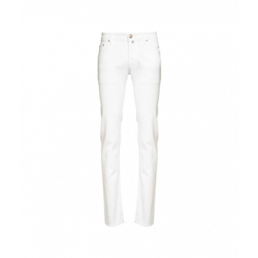 Slim Fit Jeans bianco