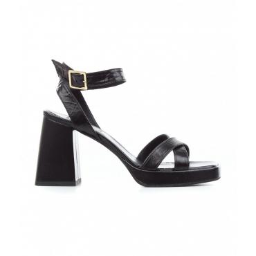 Sandali con tacco Sambuca nero