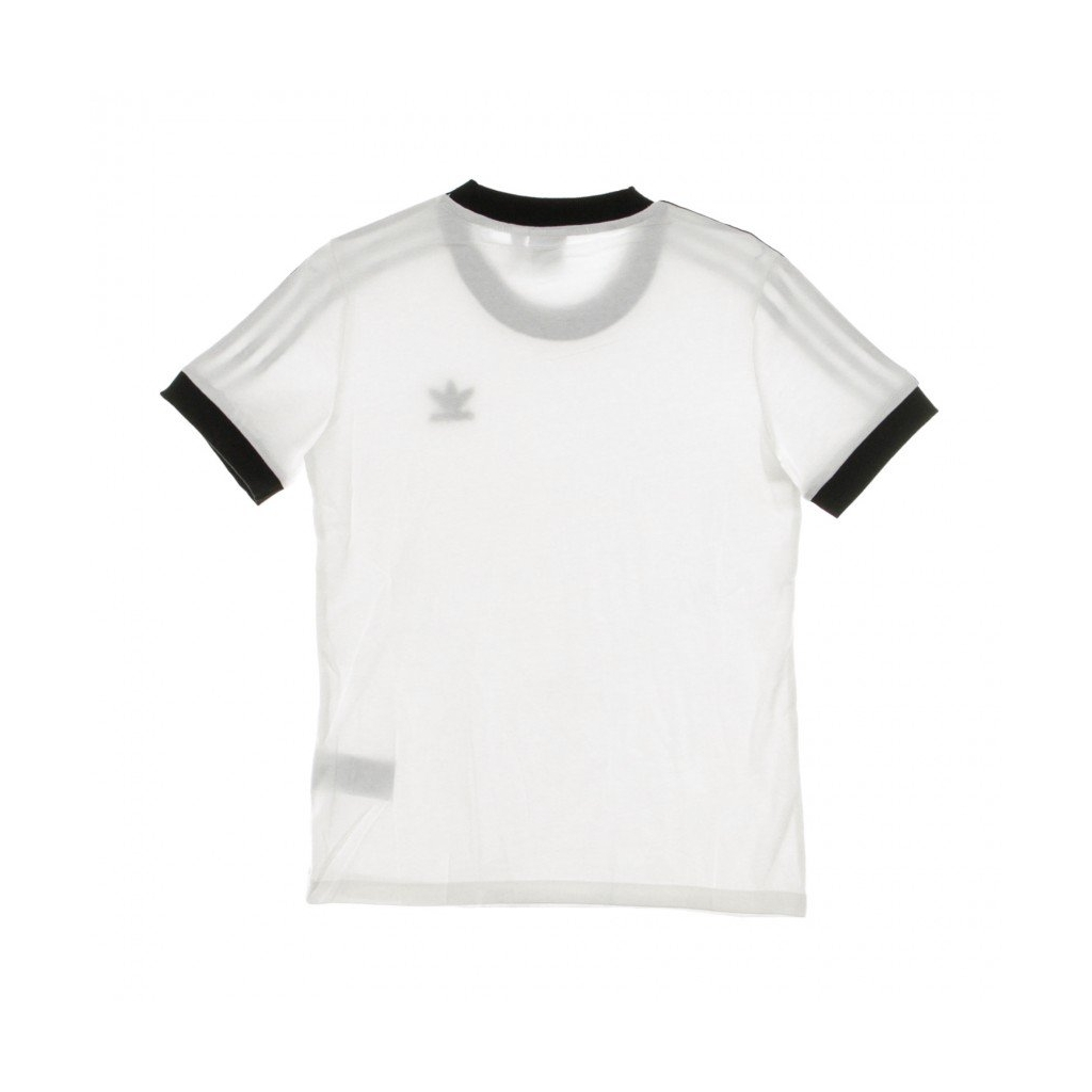 MAGLIETTA 3 STRIPES TEE WHITE/BLACK