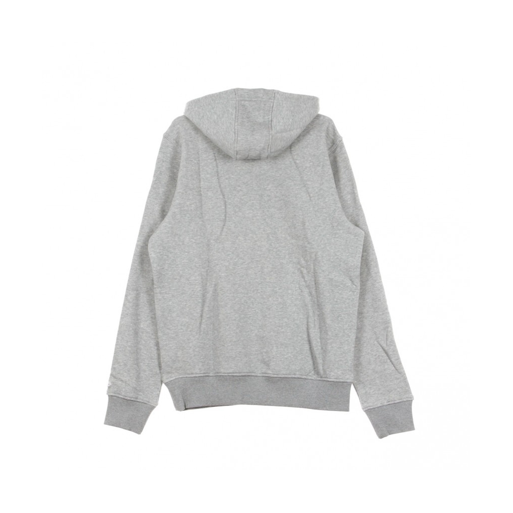 FELPA CAPPUCCIO NOS PO HOODY MLB LOGO LIGHT GREY HEATHER
