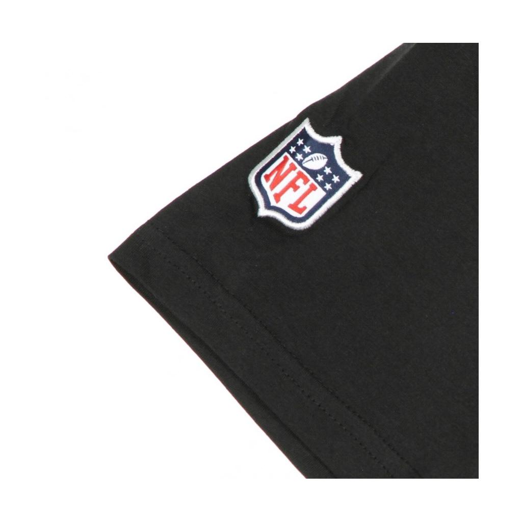 MAGLIETTA TEAM LOGO NFL TEE BLACK