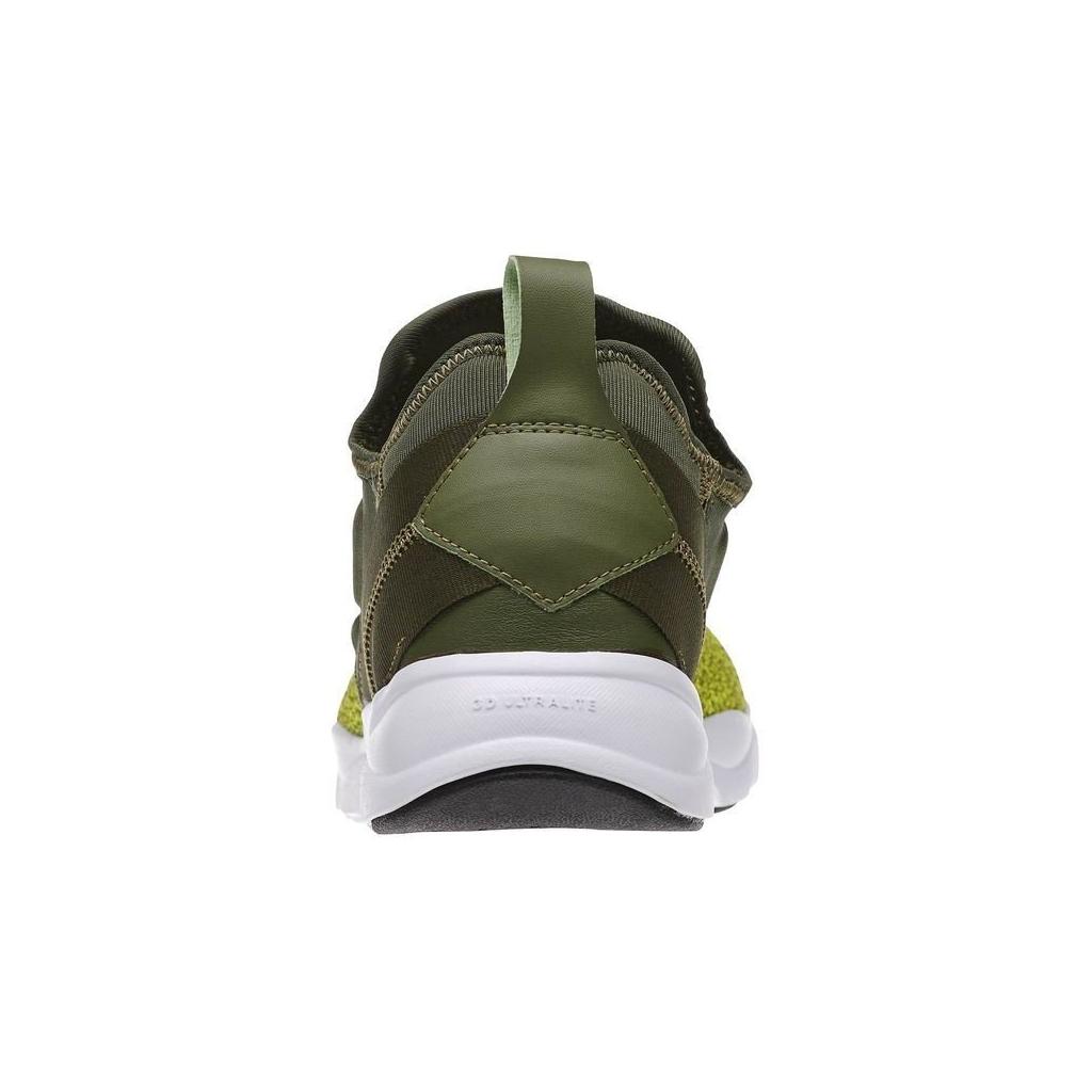 LOW SHOE REEBOK SCHUHE FURYLITE SLIP-ON STRICK Grün / Hypergreen / Weiß einzigartig