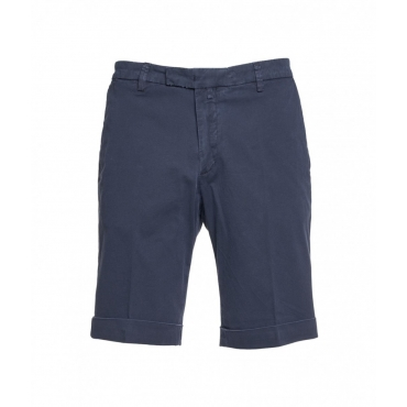 Bermuda shorts blu scuro