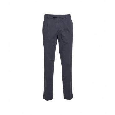 Pantaloni con orlo arrotolato blu scuro