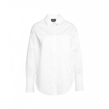 Camicetta in cotone bianco
