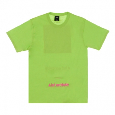 MAGLIETTA TAKING CONTROL TEE BIO LIME