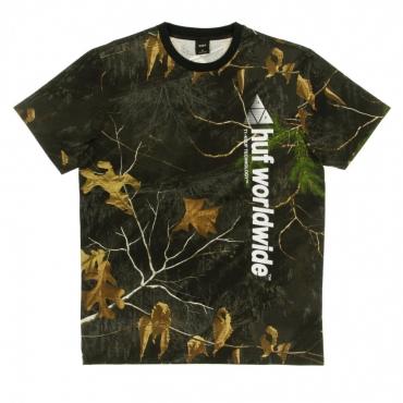 MAGLIETTA REALTREE PEAK LOGO REAL TREE BLACK